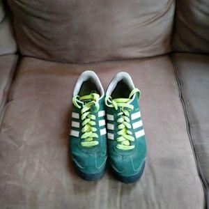 Adidas Samoa tennis shoes size 8